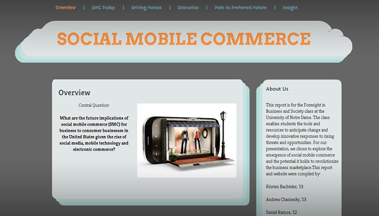The Future of Social Mobile Commerce